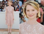 "Mia Wasikowska In Valentino - 2011 Cannes Film Festival ""Restless"" Photocall"