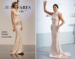 Michelle Rodriguez In Jean Fares Couture - 2011 amfAR's Cinema Against AIDS Gala