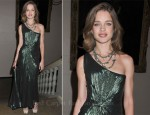 Natalia Vodianova In Roberto Cavalli - Women for Women Charity Gala