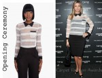 In Ivanka Trump's Closet - Opening Ceremony Button Back Blouse