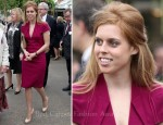 Princess Beatrice In Roland Mouret - Chelsea Flower Show Press and VIP Day