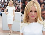 "Rachel McAdams In Maxime Simoens Couture - 2011 Cannes Film Festival ""Midnight In Paris"" Photocall"