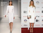 Rosie Huntington-Whiteley In MaxMara - 2011 Maxim Hot 100 Party
