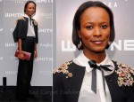 Shala Monroque In Jason Wu - Whitney Art Party: The Groundbreakers