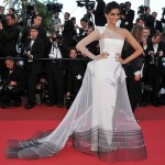 "Sonam Kapoor In Jean Paul Gaultier Couture - 2011 Cannes Film Festival ""The Artist"" Premiere"