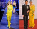 """Zhang Ziyi In Christian Dior - """"Love For Life"""" Beijing Premiere"""