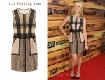 In Amber Heard's Closet - 3.1 Phillip Lim Patchwork Lace Dress
