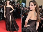 "Angelina Jolie In Atelier Versace - 2011 Cannes Film Festival ""The Tree Of Life"" Premiere"