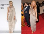 Blake Lively In Chanel Couture - 2011 Met Gala