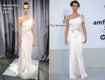 Brooke Shields In Marchesa - 2011 amfAR's Cinema Against AIDS Gala