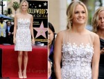 Carrie Underwood In Mandalay - Simon Fuller Hollywood Walk Of Fame Induction Ceremony
