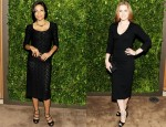 Rosario Dawson In Dolce & Gabbana & Amy Adams In L'Wren Scott - Cartier Dinner celebrating the MoMA Party in the Garden