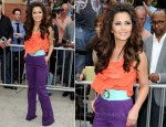 Cheryl Cole In Oscar de la Renta, Diane von Furstenberg & Burberry Prorsum - The X Factor US Auditions