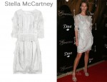 In Christy Turlington's Closet - Stella McCartney Appliqué Dress