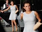 Coleen Rooney In Azzedine Alaia - Manchester United Player Of The Season Award