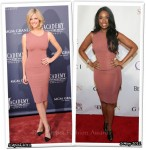 Who Wore Victoria Beckham Better? Brooklyn Decker or Jennifer Hudson