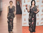Dita von Teese In Jenny Packham - The Cointreau MargaDita Launch Party