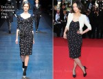 """Tang Wei In Dolce & Gabbana - 2011 Cannes Film Festival """"The Artist"""" Premiere"""