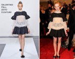 Elle Fanning In Valentino Couture - 2011 Met Gala