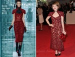 Emily Browning In Marc Jacobs - 2011 Met Gala