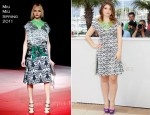 "Eve Hewson In Miu Miu - 2011 Cannes Film Festival ""This Must Be The Place"" Photocall"