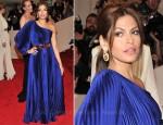 Eva Mendes In Stella McCartney - 2011 Met Gala