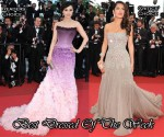 Best Dressed Of The Week - Fan Bing Bing In Atelier Versace & Salma Hayek in Gucci Première