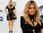 Fergie In Hervé Léger by Max Azria Atelier - 2011 Billboard Music Awards