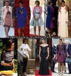 Which Was Your Favourite Michelle Obama Look Of The Week?