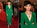 Ginnifer Goodwin In Topshop - 2011 Met Gala