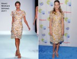 "Hilary Swank In Isaac Mizrahi - American Cancer Society ""Choose You"" Preview"