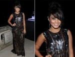 Vanessa Hudgens In Roberto Cavalli - CAA Cannes Party