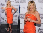 Jennifer Aniston In Vivienne Westwood - Sephora Fragrance Signing