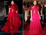 Jennifer Lopez In Gucci - 2011 Met Gala