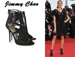 In Karolina Kurkova's Closet - Jimmy Choo 'Emily' Sandals