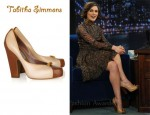 In Keira Knightley's Closet - Tabitha Simmons Two Tone Pumps