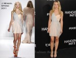 "Kristen Bell In J. Mendel - ""The Hangover Part II"" LA Premiere"