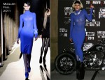 "Lady Gaga In Mugler - ""Born This Way"" Mexico Photocall"