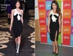 "Lea Michele In Versace - ""Glee"" Academy Screening And Q&A"
