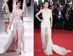 "Li Bing Bing In Elie Saab Couture - 2011 Cannes Film Festival ""The Tree Of Life"" Premiere"