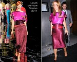 Louise Redknapp In Louis Vuitton - Nobu Berkeley