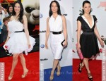 Lucy Liu Channels Her Inner Panda Whilst Loving Roger Vivier