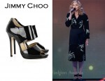 In Madonna's Closet - Jimmy Choo Private Patent Leather Sandals