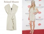 In Marisa Miller's Closet - Roland Mouret Coppelia parachute silk-blend dress