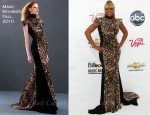 Mary J Blige In Marc Bouwer - 2011 Billboard Music Awards