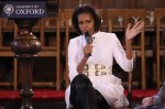 Michelle Obama In Alexander McQueen - University of Oxford
