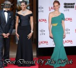 Best Dressed Of The Week - Michelle Obama In Ralph Lauren & Jessica Chastain In Roland Mouret