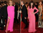 Brooklyn Decker & Michelle Monaghan Pretty In Pink - 2011 Met Gala