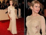 Renee Zellweger In Carolina Herrera - 2011 Met Gala