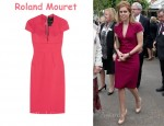 In Princess Beatrice Closet - Roland Mouret Lucile Dress
